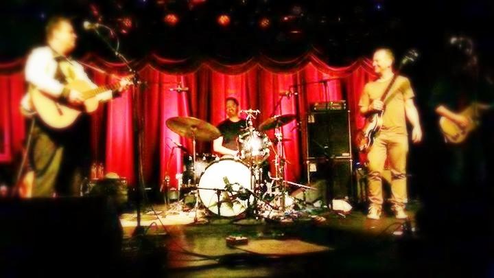 Band of Changes with Dave Dreiwitz, Joe Russo, Scott Metzger & Chris Harford at Brooklyn Bowl photo by Jenny Lee Baniszewski